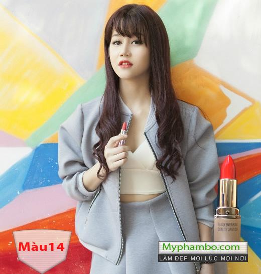 Son moi FIRIN professional cua nga easily smearing quality lipstick (4)