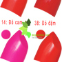 Son moi FIRIN professional cua nga - easily smearing quality lipstick (5)