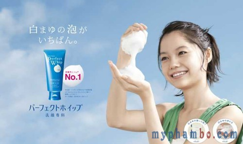 Sua rua mat Shiseido Perfect Whip 120g - Nhat ban (1)