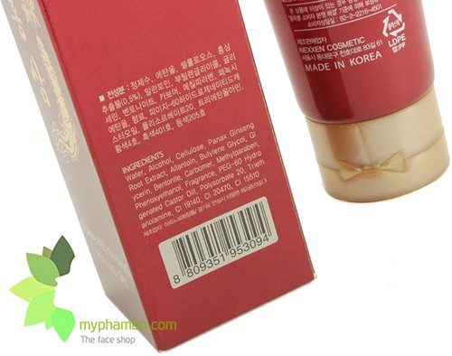 Tay da chet sam do My gold - Korea Red Ginseng Peeling Gel (3)