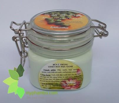 Bun u trang da tinh chat hoa hong, tinh chat dau xanh- han quoc (2)