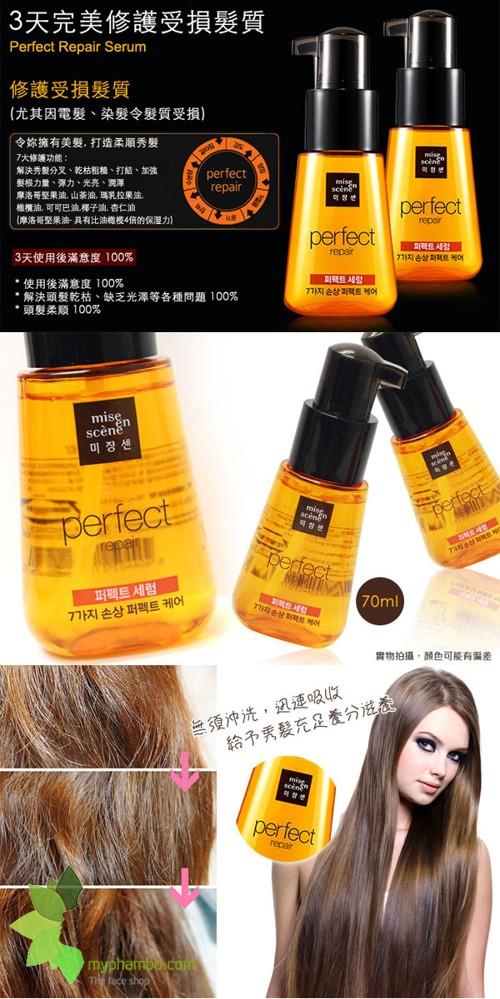 Huyet Thanh Phuc Hoi toc Hu Ton Mise En Scene Perfect Repair Hair - Han quoc (5)