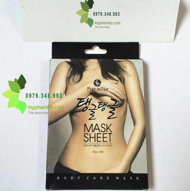 Mieng dan no nguc Pure As Fior Mask sheet - Han quoc (5)