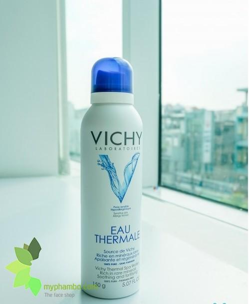 Nuoc xit khoang duong da Vichy Eau Thermal 150ml - Phap (3)