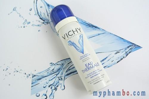 Nuoc xit khoang duong da Vichy Eau Thermal 50ml - Phap (2)