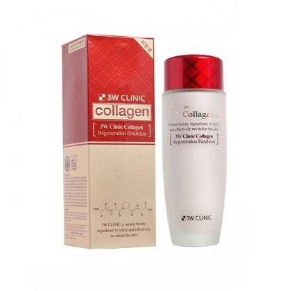 Nước hoa hồng collagen 3w clinic Regeneration Softener - Hàn quốc