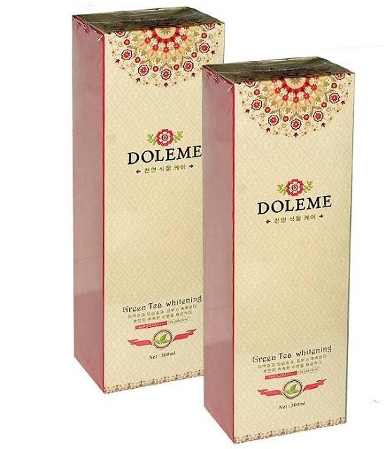 Bo kem tam duong trang Doleme Green Tea Whitening 300ml – Han quoc (1)