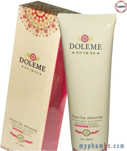Bo kem tam duong trang Doleme Green Tea Whitening 300ml – Han quoc (3)