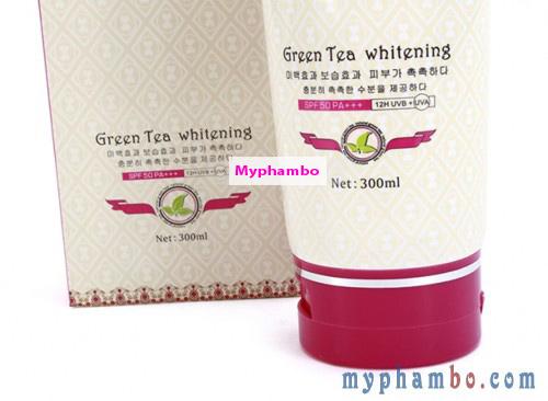 Bo kem tam duong trang Doleme Green Tea Whitening 300ml - Han quoc (1)