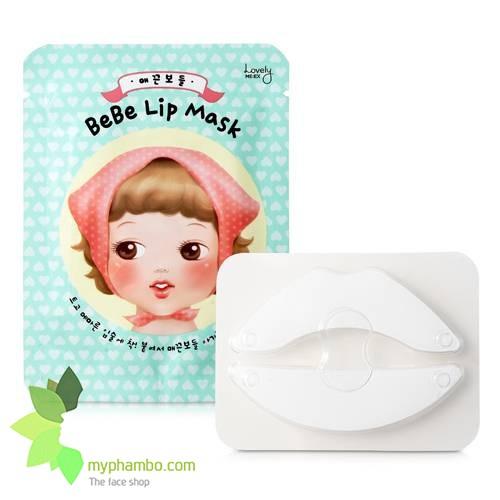 Mat na moi lovely MEEX bebe lip mask - the face shop (1)