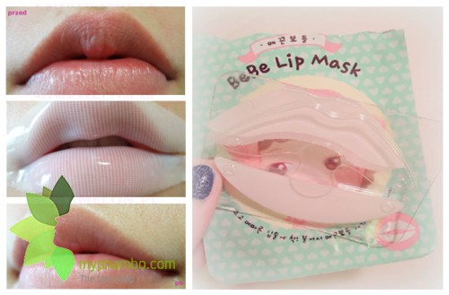 Mat na moi lovely MEEX bebe lip mask - the face shop (2)