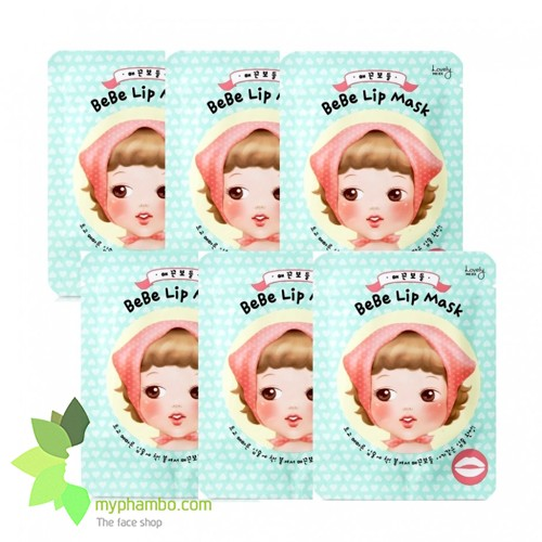 Mat na moi lovely MEEX bebe lip mask - the face shop (4)
