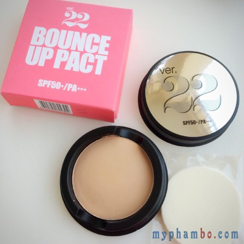 Phan tuoi Ver 22 Bounce Up Pact SPF 50PA+++ Chosungah (10)