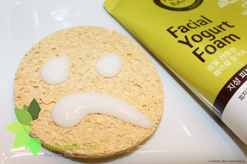 Sua Rua Mat Happy Bath Natural Facial Yogurt Cleansing Foam - Han quoc (3)