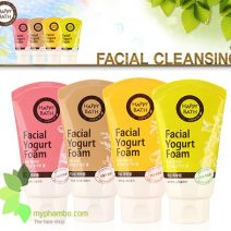 Sua Rua Mat Happy Bath Natural Facial Yogurt Cleansing Foam - Han quoc (5)
