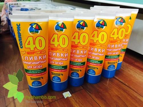 Kem Chong Nang Chong Tham Nuoc Floresan SPF40 - Nga (4)