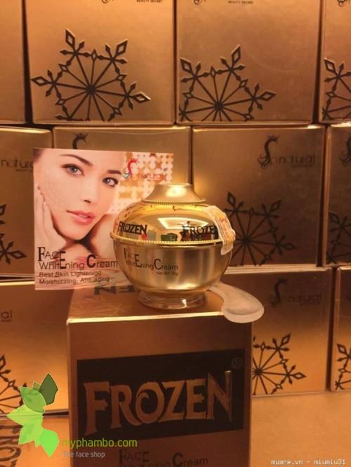 Kem Duong Trang Da Frozen Face Whitening 25g (2)