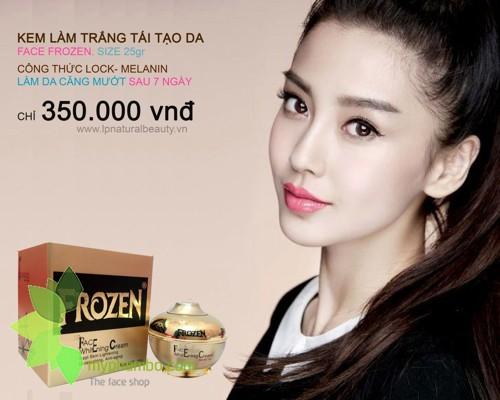 Kem Duong Trang Da Frozen Face Whitening 25g (6)