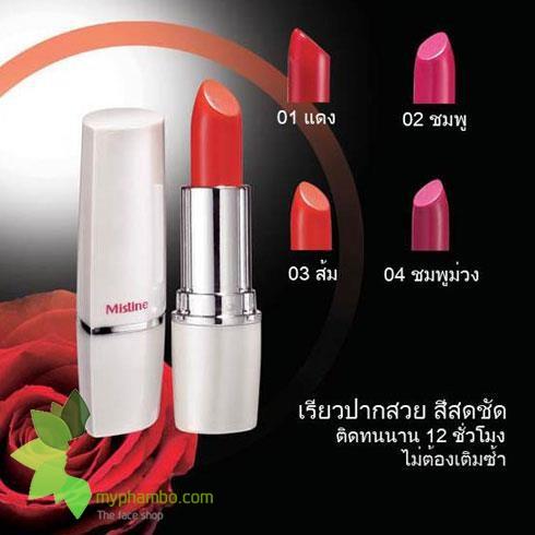 Son Mistine 12h long last lipstick - Thai Lan (1)