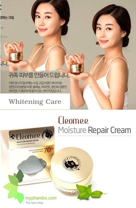 kem-duong-trang-da-sua-lua-cleomee-moisture-repair-cream-han-quoc (3)