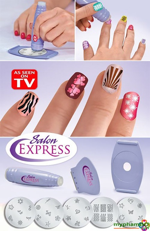 Bo dung cu lam Nail sieu toc Salon Express (1)
