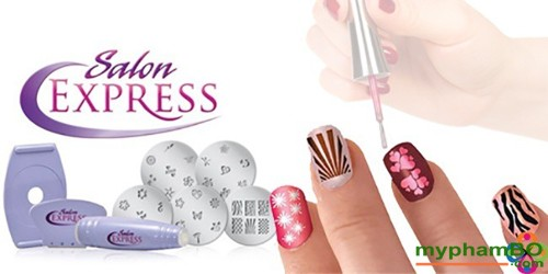 Bo dung cu lam Nail sieu toc Salon Express (4)