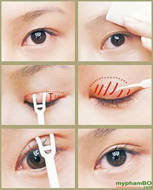 Gel kich mi Pro Eyelashes Eyelash Glue The Face Shop (7)