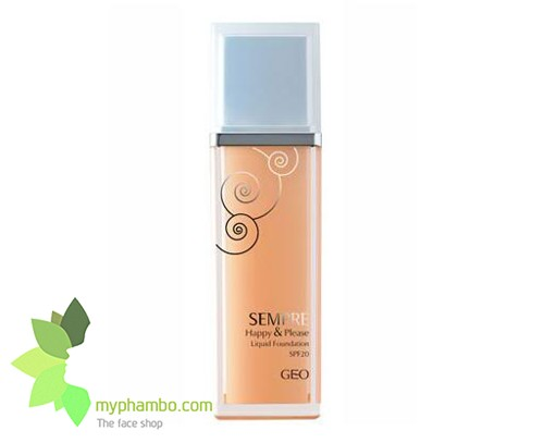 Kem nen geo lamy Sempre happy & please liquid foundation - Han quoc (5)