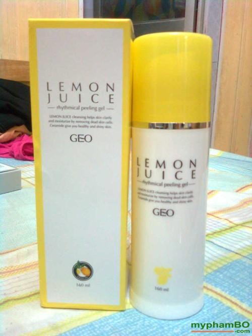 Kem tay da chet Geo Lamy tinh chat Chanh Lemon juice (4)