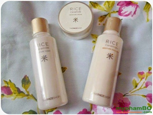 Sua duong gao The Face Shop - Rice Ceramide moisture emulsion (3)