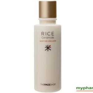 Sua duong gao The Face Shop - Rice Ceramide moisture emulsion (6)