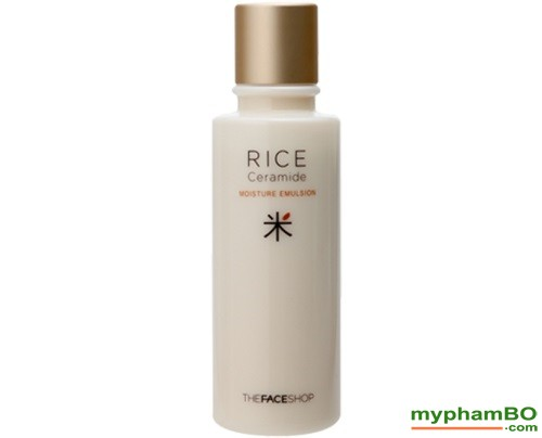 Sua duong gao The Face Shop - Rice Ceramide moisture emulsion (6)
