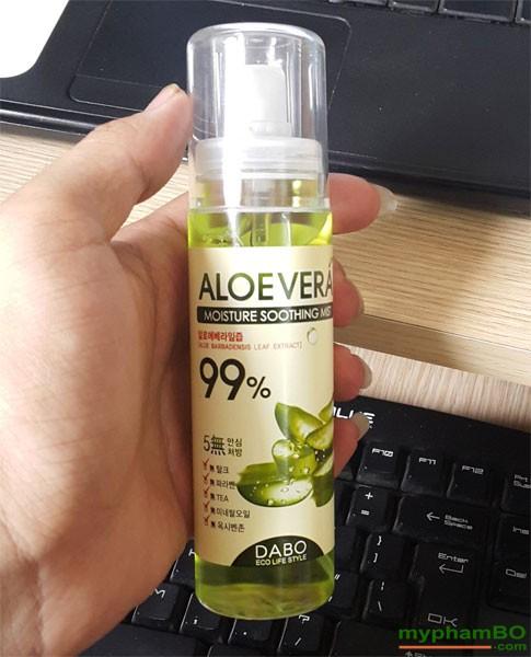 Xit khoang 99% lo hoi AloeVera Dabo 100ml 1