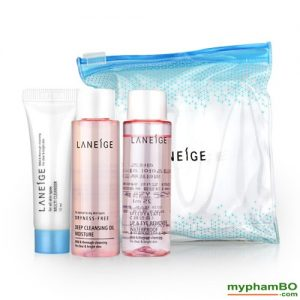Bo kit tay trang sieu sach laneige cleansing trial kit (1)