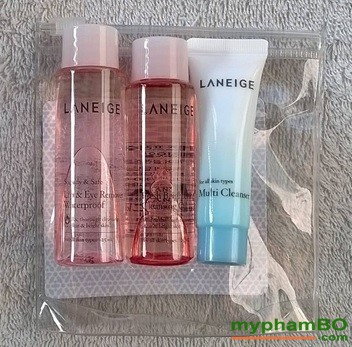 Bo kit tay trang sieu sach laneige cleansing trial kit (2)