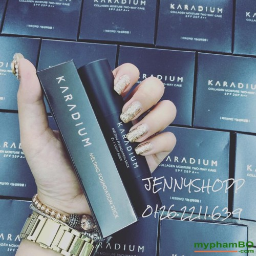 Kem nen dang thoi KARADIUM Melting Foundation Stick (3)