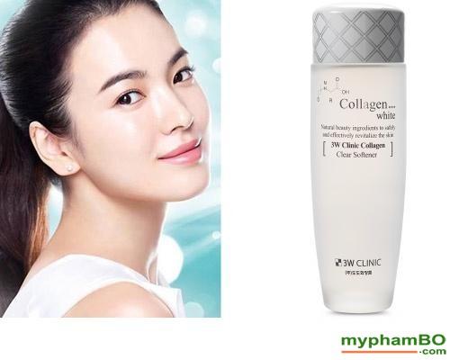 Nuoc hoa hong sach da 3W Clinic Collagen White 150ml (2)