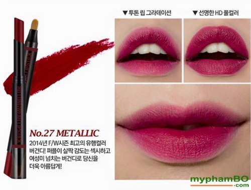 Son HD Longwear Lipstick Han Quoc
