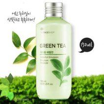 Sua duong the GreenTea waterfull emulision The Face Shop11111