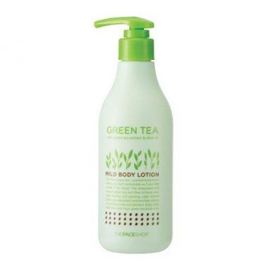 Sua-duong-tho-Green-Tea-Mild-Body-Lotion