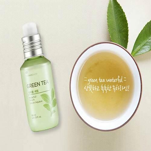 Tinh chat duong da Green tea The Face Shop (2)