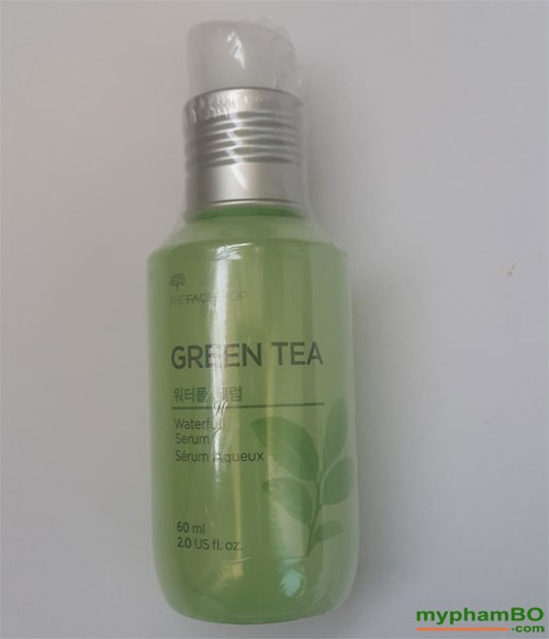 Tinh chat duong da Green tea The Face Shop (4)