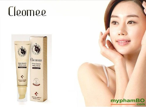 Tinh-chat-sua-lua-trang-da-ban-ngay-Cleomee-shiny-queen-milky-cream-whitening-care-(5)