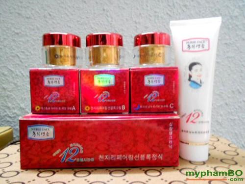 Bo my pham cao cap Nurse Face 4in1 Han Quoc (411)