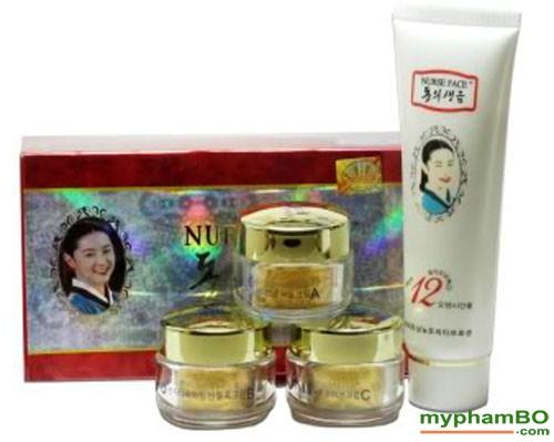 Bo my pham cao cap Nurse Face 4in1 Han Quoc (413)