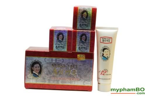 Bo my pham cao cap Nurse Face 4in1 Han Quoc (414)