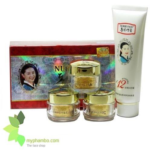 Bo my pham cao cap Nurse Face 4in1 Han Quoc (415)2