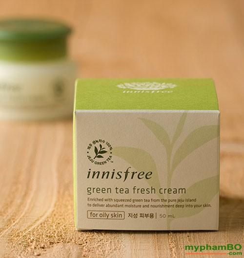 Kem duong da Tra xanh Green Tea Balancing Cream (5)1