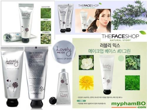 Kem lot Lovely Meex Make Up Base The Face Shop (1)