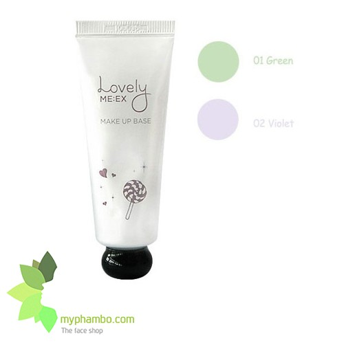 Kem lot Lovely Meex Make Up Base The Face Shop (5)